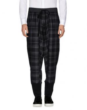 Повседневные брюки 3.1 PHILLIP LIM. Цвет: свинцово-серый