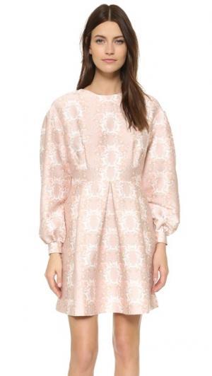 Платье Jessie с длинными рукавами Mother of Pearl. Цвет: belle fleure