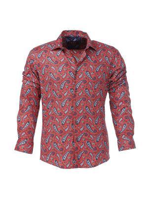 Рубашка BAWER. Цвет: лиловый