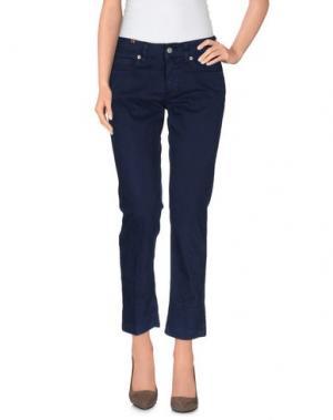Повседневные брюки NOTIFY. Цвет: темно-синий