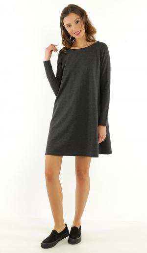 Платье 42 ТВОЕ. Цвет: серый