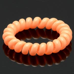 Резинка-Пружинка для волос, арт. РПВ-281 Бусики-Колечки. Цвет: розовый