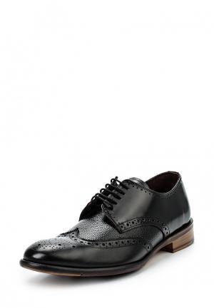 Туфли London Brogues. Цвет: черный