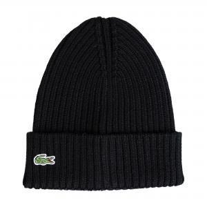Вязаная шапка Lacoste. Цвет: none