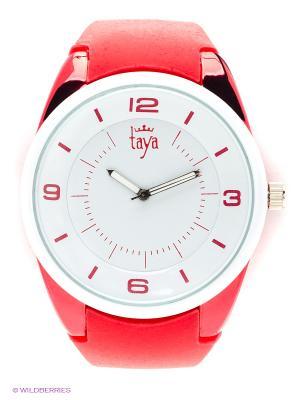 Часы Taya. Цвет: красный, белый