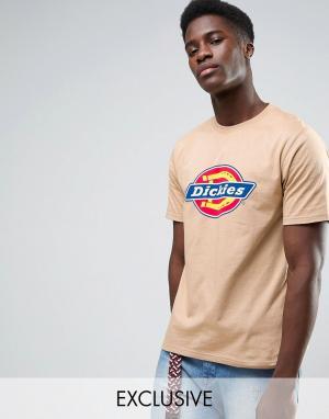 Dickies Футболка с логотипом. Цвет: светло-серый