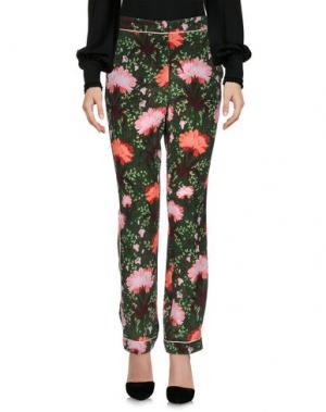 Повседневные брюки ERDEM. Цвет: зеленый