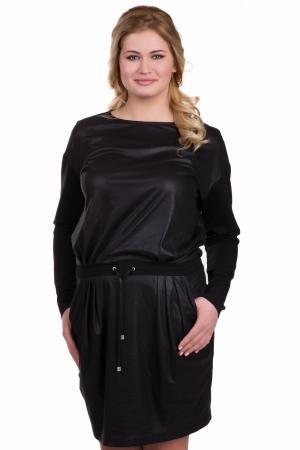 Платье Tuzzi. Цвет: чёрный