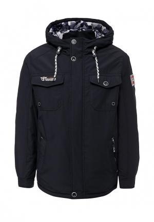 Куртка утепленная Fergo. Цвет: синий