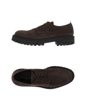 Обувь на шнурках BRUNO BORDESE. Цвет: темно-коричневый