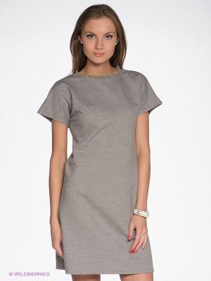 Платье LuAnn. Цвет: темно-серый