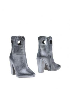 Полусапоги и высокие ботинки TIFFI. Цвет: свинцово-серый