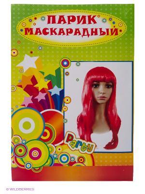 Маскарадный парик Magic Home. Цвет: красный