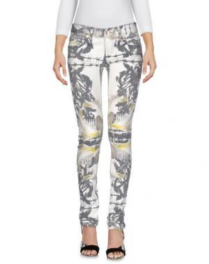 Джинсовые брюки LES ÉCLAIRES. Цвет: светло-серый