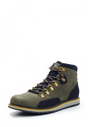 Ботинки Helly Hansen. Цвет: зеленый