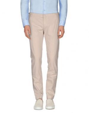 Повседневные брюки ENTRE AMIS. Цвет: бежевый