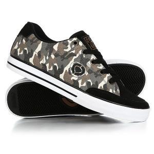 Кеды кроссовки низкие  Lopez 50 Slim Camo/Black Circa. Цвет: бежевый,черный,коричневый