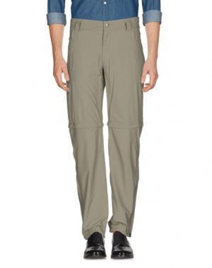 Повседневные брюки HAGLÖFS. Цвет: зеленый-милитари