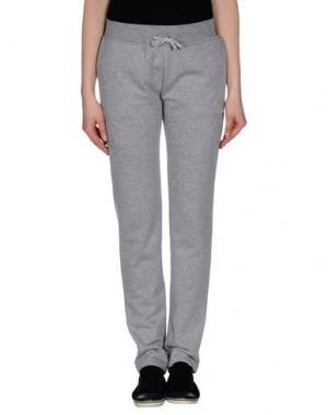 Повседневные брюки BEAYUKMUI. Цвет: светло-серый