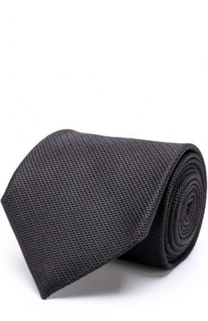 Шелковый галстук Tom Ford. Цвет: черный
