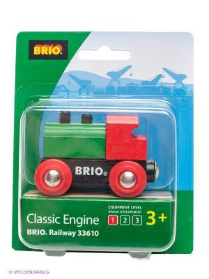Игрушка Паровоз BRIO. Цвет: зеленый, красный