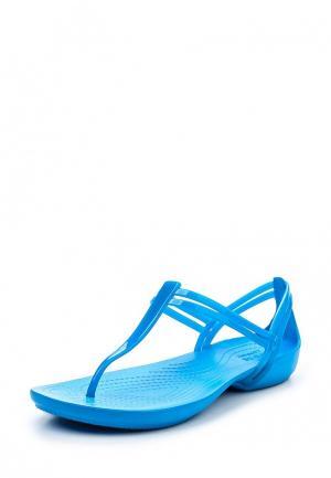 Сандалии Crocs. Цвет: голубой