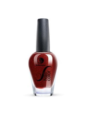 Лак для ногтей Тон SW07 Шоколадный трюфель SOLOMEYA. Цвет: темно-красный