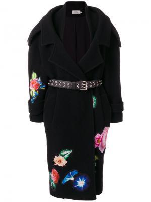 Пальто Sibyl Preen By Thornton Bregazzi. Цвет: чёрный