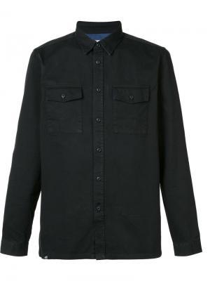 Рубашка Olaf Wesc. Цвет: чёрный