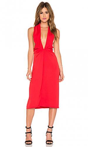 Платье toussaint Maurie & Eve. Цвет: красный