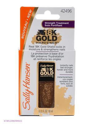 Средство для укрепления ногтей gold hardener SALLY HANSEN. Цвет: золотистый