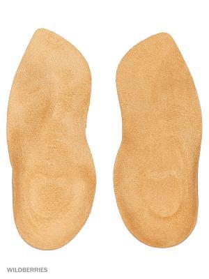 Ортопедический клин-супинатор для обуви на высоких каблуках, ГЕЛЕВЫЙ, женский,  ARCH SUPPORT GEL Tarrago. Цвет: бежевый, прозрачный