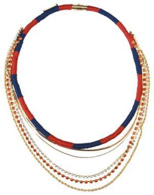 Ожерелье VENESSA ARIZAGA. Цвет: красный