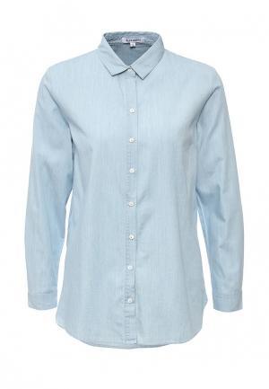 Рубашка GLAMOROUS. Цвет: голубой