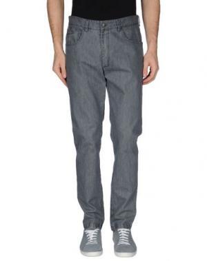 Джинсовые брюки 26.7 TWENTYSIXSEVEN. Цвет: серый