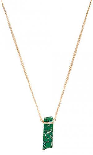 Ожерелье wendy Mimi & Lu. Цвет: металлический золотой