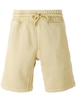 Классические спортивные шорты Yeezy. Цвет: телесный