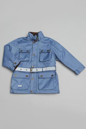 Куртка Trasluz. Цвет: голубой