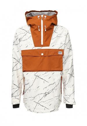 Куртка горнолыжная CLWR. Цвет: белый
