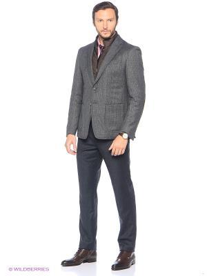 Пиджак Eden Park. Цвет: серый, коричневый