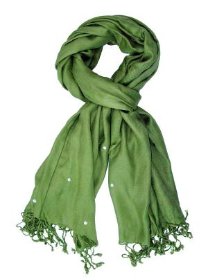Платок Passigatti. Цвет: оливковый