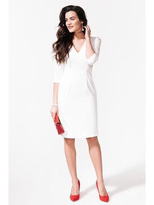 Платье La vida rica. Цвет: белый