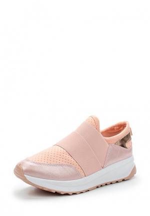 Кроссовки Ideal Shoes. Цвет: розовый