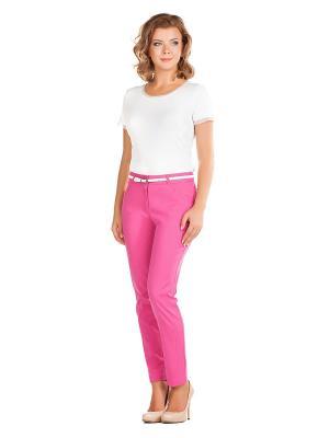 Брюки Femme. Цвет: розовый