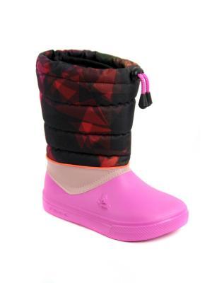 Сноубутсы FROG. Цвет: черный, красный, розовый