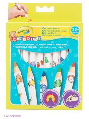 Набор толстых карандашей для малышей Crayola. Цвет: желтый