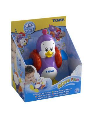 Плескающийся Пингвин# TOMY.. Цвет: белый