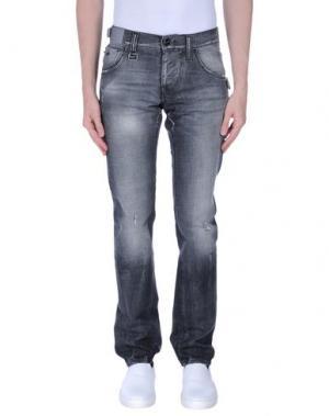 Джинсовые брюки ENERGIE. Цвет: черный