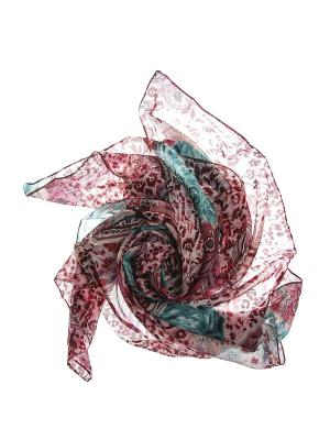 Платок Migura. Цвет: розовый, белый, бирюзовый