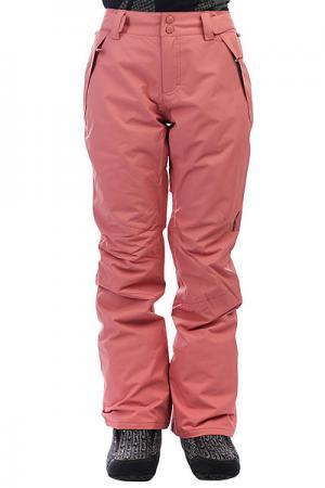 Штаны сноубордические женские  Malla Canyon Billabong. Цвет: розовый